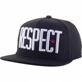 GORRA NEFFDAMIAN RESPECT BLACK