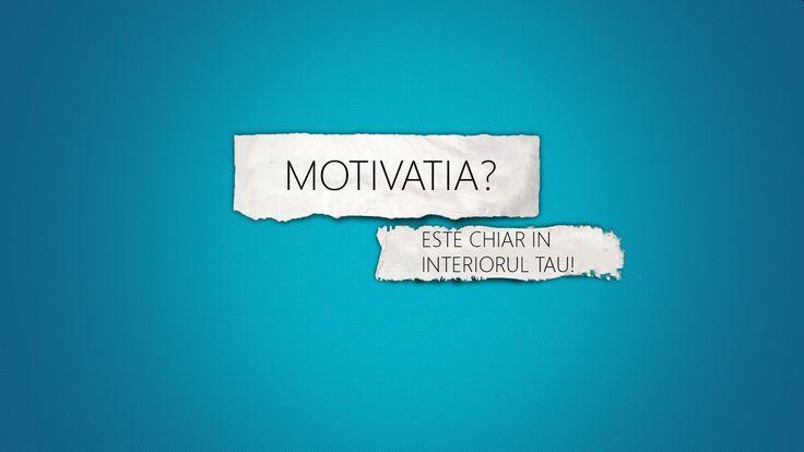 Motivatia – elementul esențial al activității psihice și al dezvoltării personalității. Întrucât este începutul săptămânii, m-am gândit că ar
