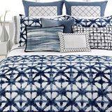 Vera Wang's shibori bedding (on sale right now at Macy's