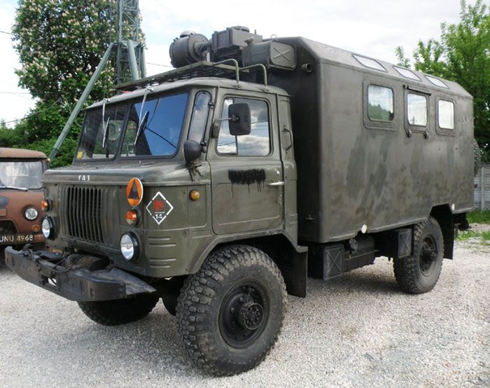Military Tanks For Sale >> 1984 Gaz 66 13 window Soviet built truck | Sweet ride (military style) | Military vehicles for ...