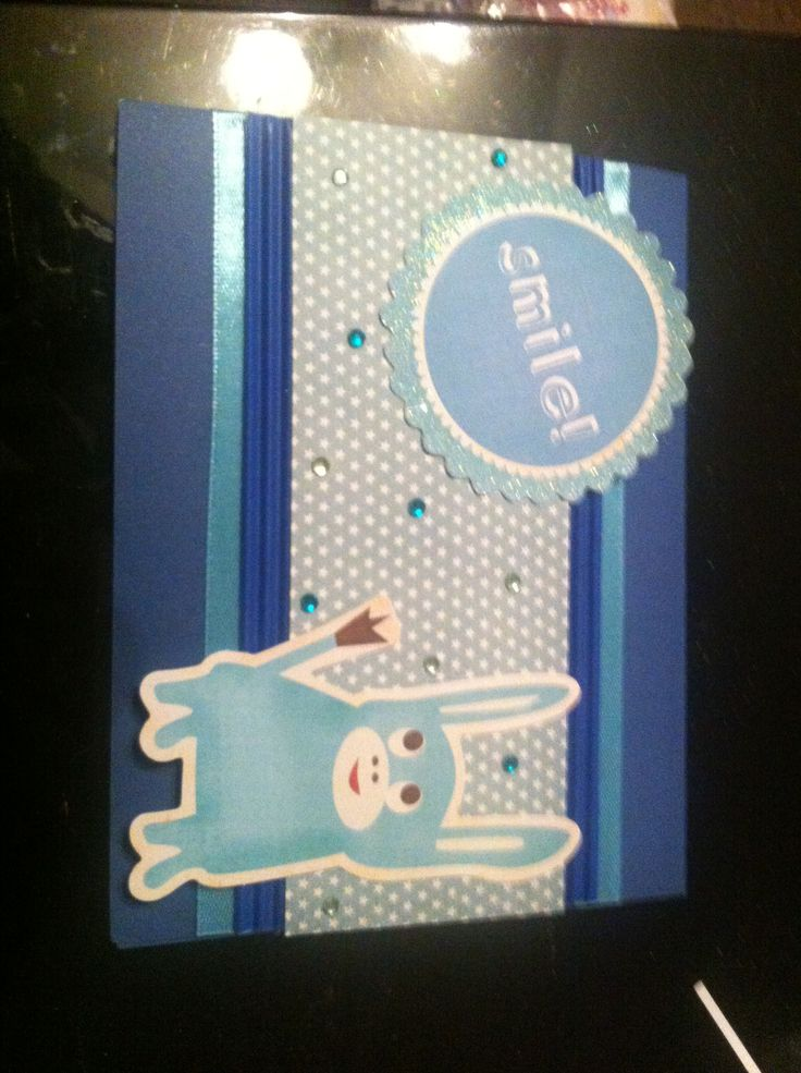 Different kind of baby shower card
