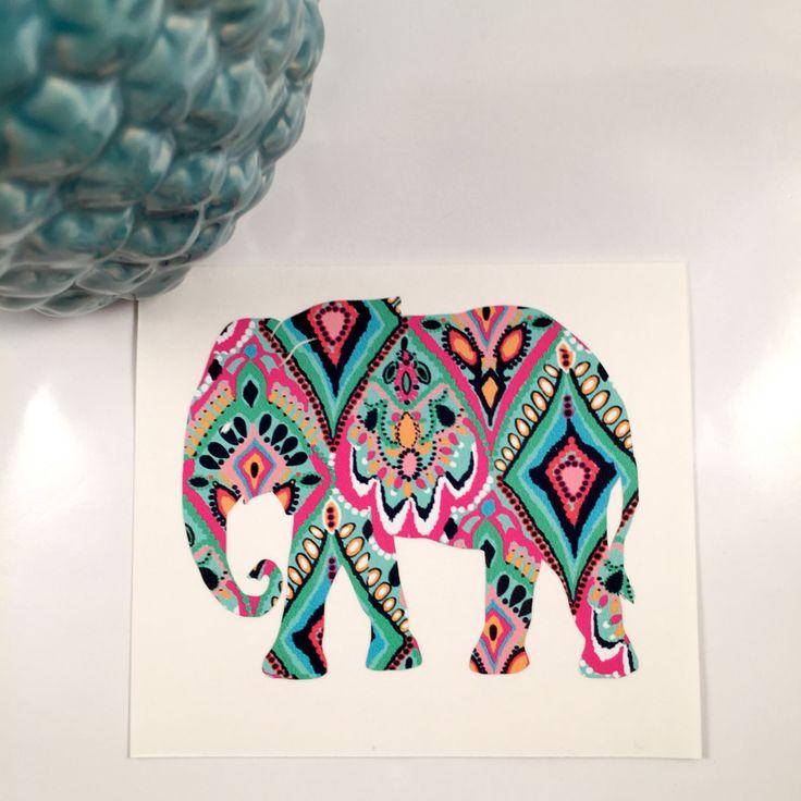 Unique Iphone Decal Ideas On Pinterest Iphone Apple - Elephant monogram car decal