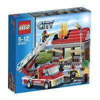 Lego City - 60003 - Jeu de Construction - L'intervention du Camion de Pompier