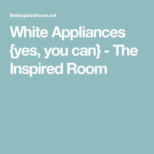 44 Best White Appliances Images On Pinterest: 25+ Best Ideas About White Appliances On Pinterest