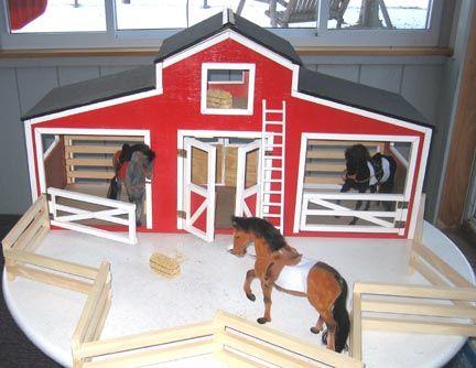 Horse Stable Woodworking Plan Kids Pinterest Best