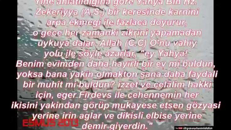 Kalplerin Keşfi Bölüm 4: Riyazet ve Nefsani Şehvet imam Gazali