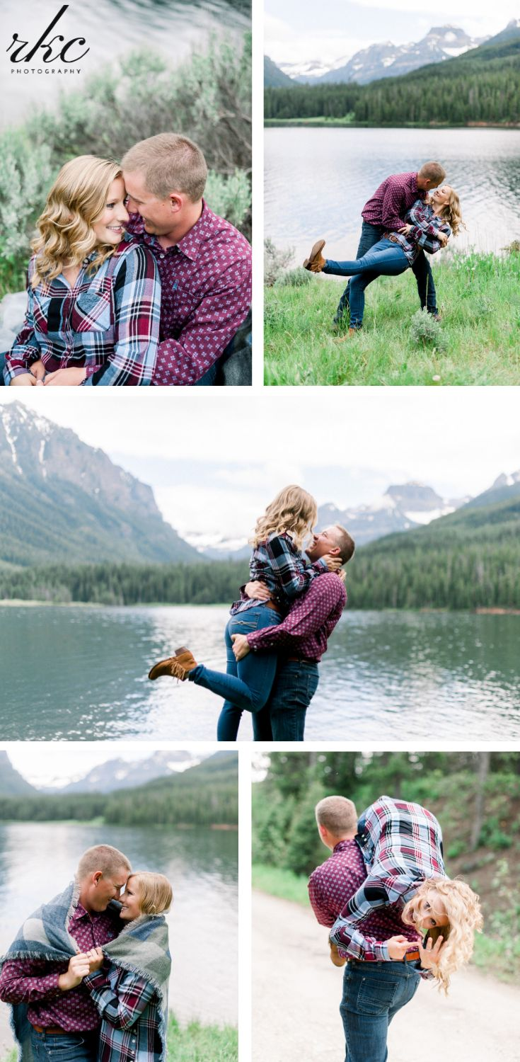 Mountain Engagements | Montana Engagement Photography | Unique rustic fall count… – Ring Photos + Wedding Ring Photos
