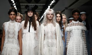 London Fashion Week 2017: Bora Aksu's Collection Inspired By Suffragette Princess Sophia Dunlep Singh   The Huffington Post