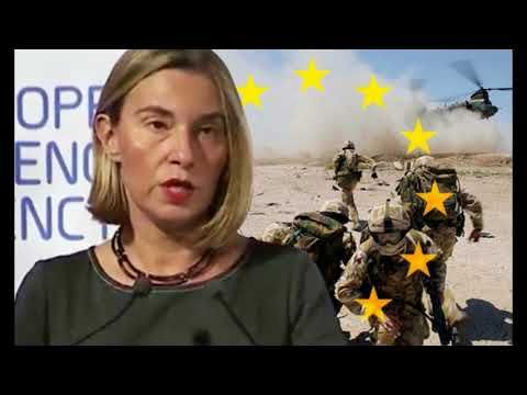 Dawn of the EU army 'FULL SPEED ahead' with defence plans, EU foreign af...