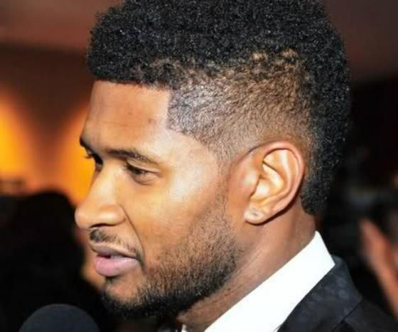 Usher Haircut Temple Taper Haircuts Pinterest Lost