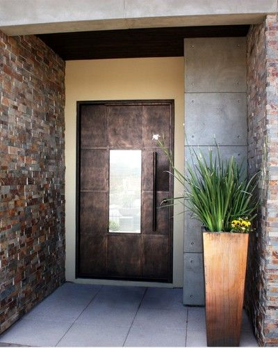 Luce contemporary front doors