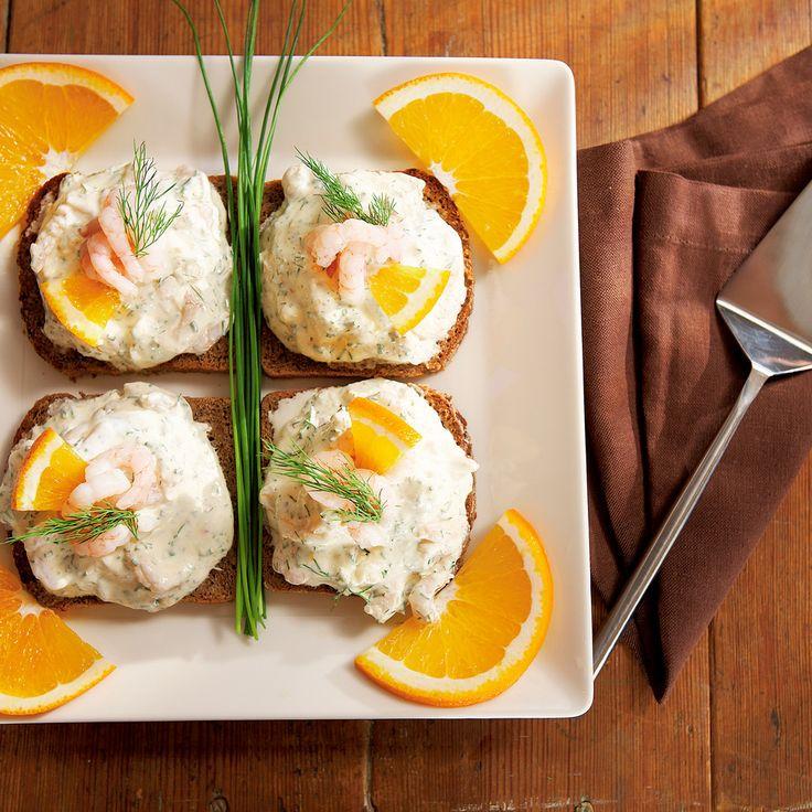Appelsiiniset katkarapuleivät | K-ruoka #sitrushedelmät