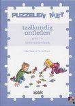 Puzzelen Met Taalkundig Ontleden / Gr 7-8 / Deel Antwoordenboek
