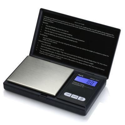 American Weigh Scales - Digital Pocket Scale Black