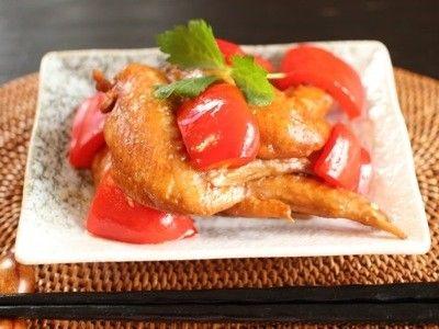 ヘルシーでおいしい鶏手羽先の煮物(所要時間:15分)