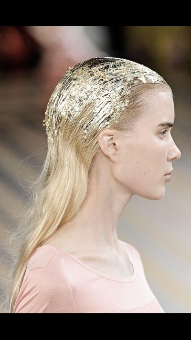 114 best runway hairstyles images on Pinterest | Hair dos, Hair ...