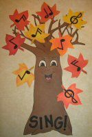LDS Primary Singing Time Idea: Music Tree