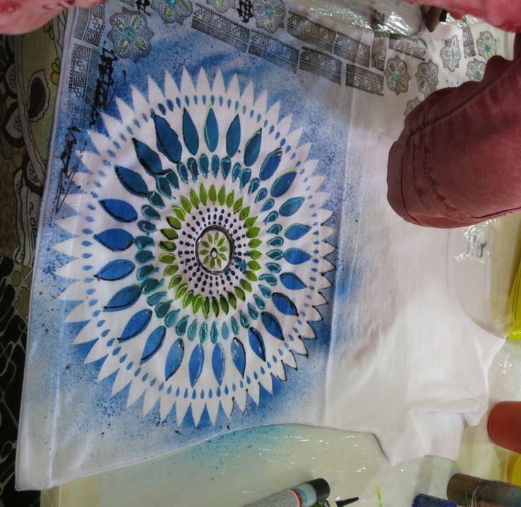 Kreativita hobby květen 2015, triko
