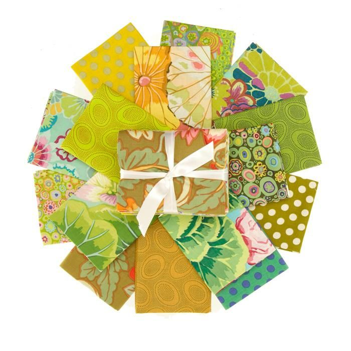 Green fat quarter