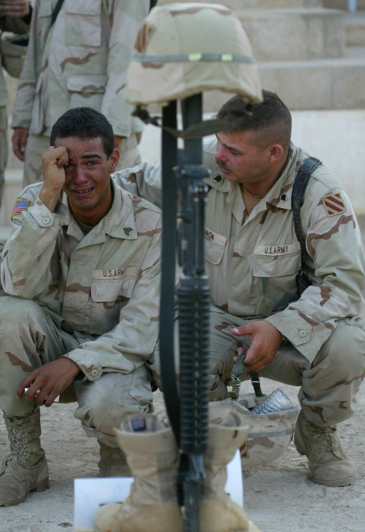 american soldiers crying - photo #7