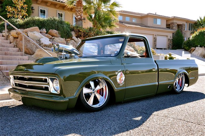 1969 Chevy C10 427ci 8 71 Blower Cool Classic Pickups