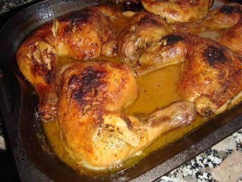 Fabulosa receta para Pollo al horno con naranjas y cerveza . Esto pollo no lleva nada de grasa, ahora cuando la elaboremos lo vereis.