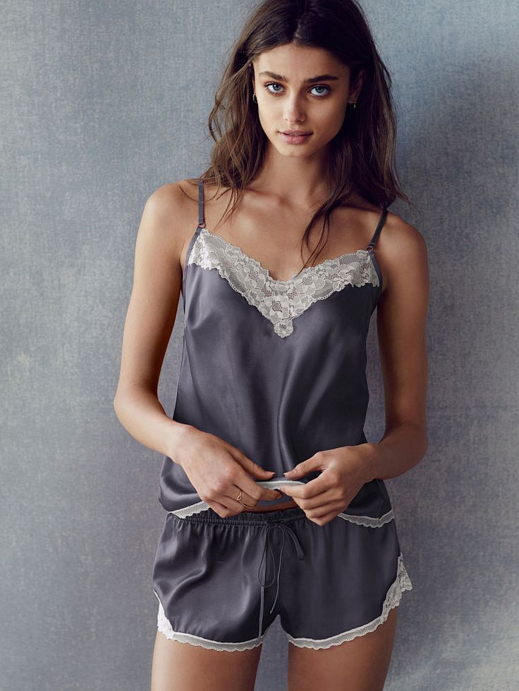 Satin Cami and Short Set - Body by Victoria - Victoria's Secret