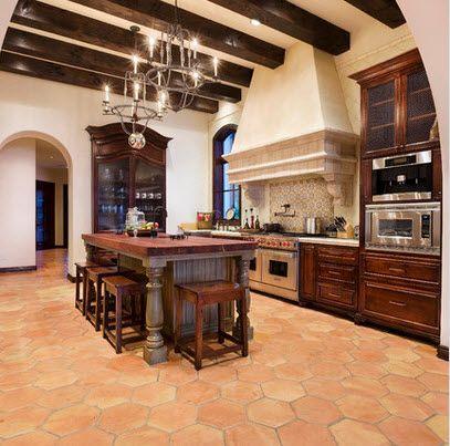 15 pines de pisos rusticos que no te puedes perder pisos - Cocinas para pisos pequenos ...