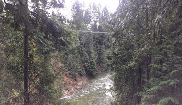 Подвесной мост и парк Капилано 3735 Capilano Rd., Норт-Ванкувер, Канада