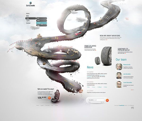 Weekly Web Design Inspiration