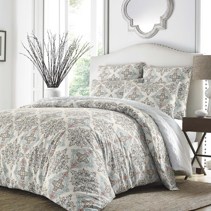 Stone Cottage Darville Aqua Comforter Set