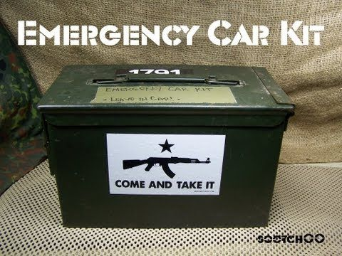 Car Survival Kit - Sootch00/Sensible Prepper