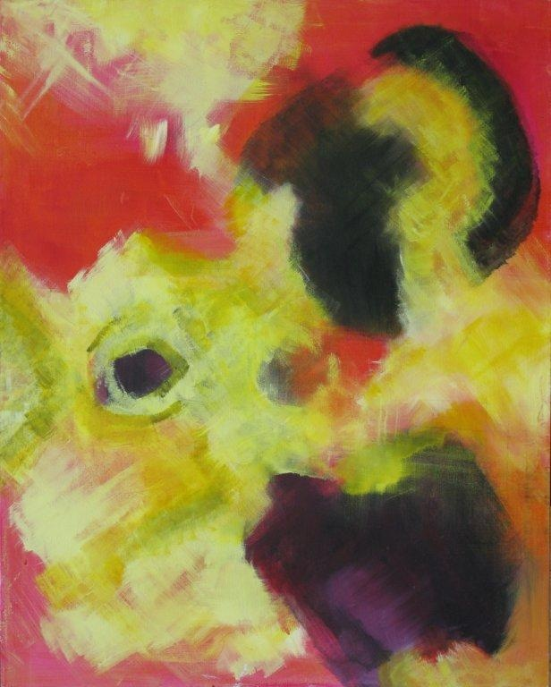 Explosive. November, 2010. 60x80. Acrylics on canvas.
