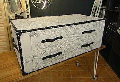 Журнальный стол-чемодан