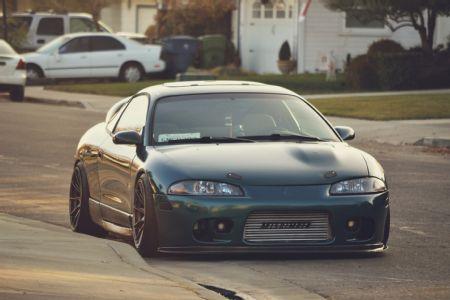 1998 Mitsubishi Eclipse seré sincero esos dos ojos nos gustan a todos #love #eyes #green