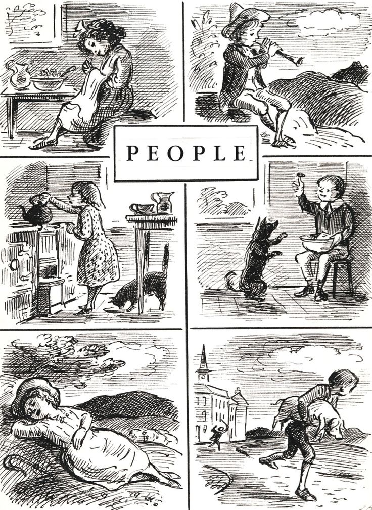 PEOPLE by EDWARD ARDIZZONE