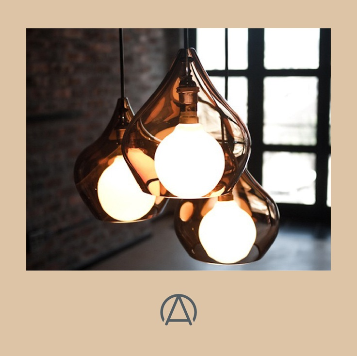 The hand-blown glass Vonk Light by Woltemade available from Africandy.com