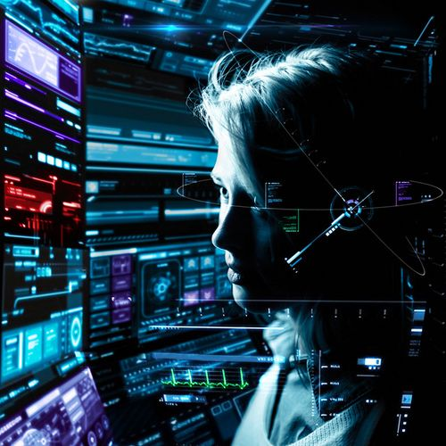 Cyberpunk, Future, Futuristic, phantm: bulletproof2k: T-28 Vanguard by Stephen Criscolo on Flickr.