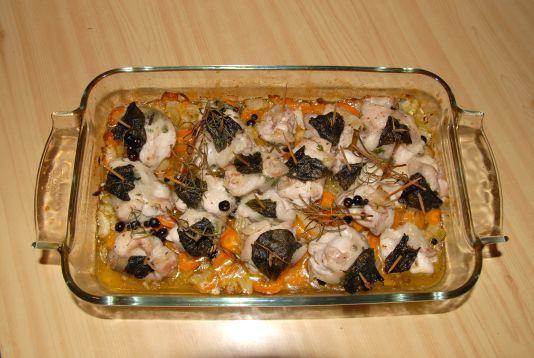 Ricetta: Bocconcini di coniglio al lardo e ginepro