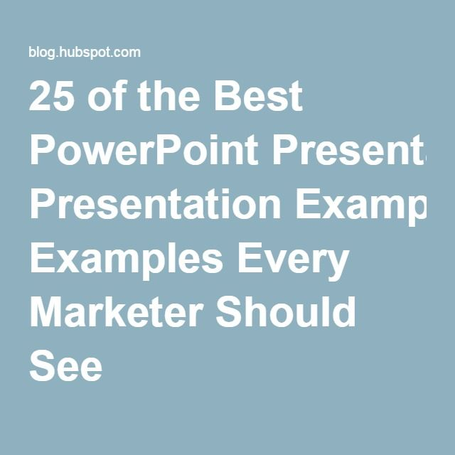 Best 25+ Powerpoint presentation examples ideas on Pinterest - powerpoint presentation