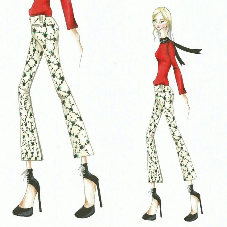 Wonderland (12)  Fashion sketch