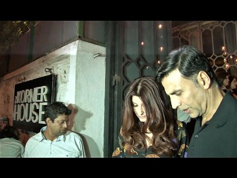 SPOTTED ! Akshay Kumar, Twinkle Khanna at The Korner House on Valentines Day 2017.  Click here to see the full video > https://youtu.be/lzFvPF34x5M  #akshaykumar #twinklekhanna #valentinesday2017 #bollywood #bollywoodnews #bollywoodnewsvilla
