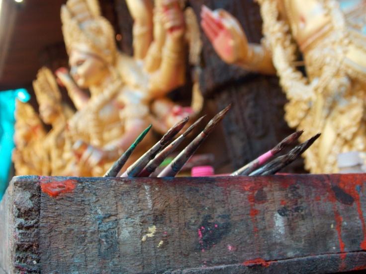 Preparation Of Maa Durga