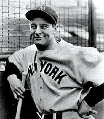 Lou Gehrig - NY Yankees - 1st Base