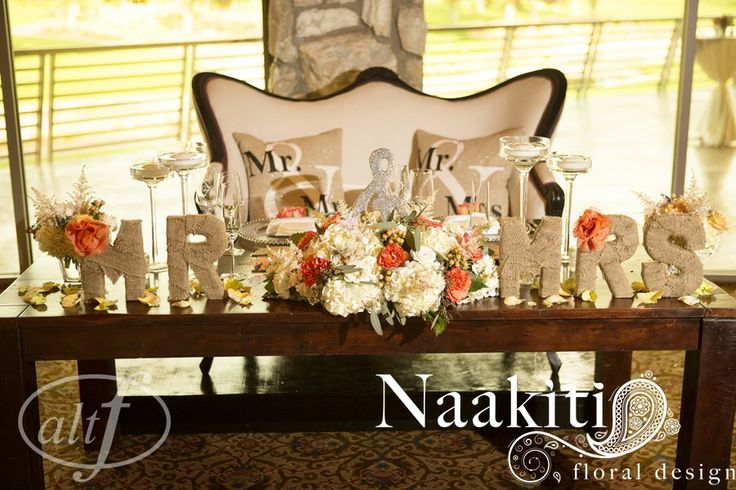 #Sweetheart #Table #Mr #Mrs #Wedding #naakitifloral #Altf