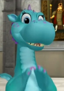 Crackle (Princess Vivian's pet dragon)