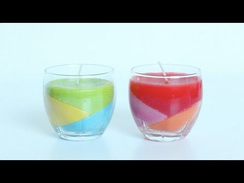 Video: Zo maak je zelf gekleurde kaarsjes - Libelle