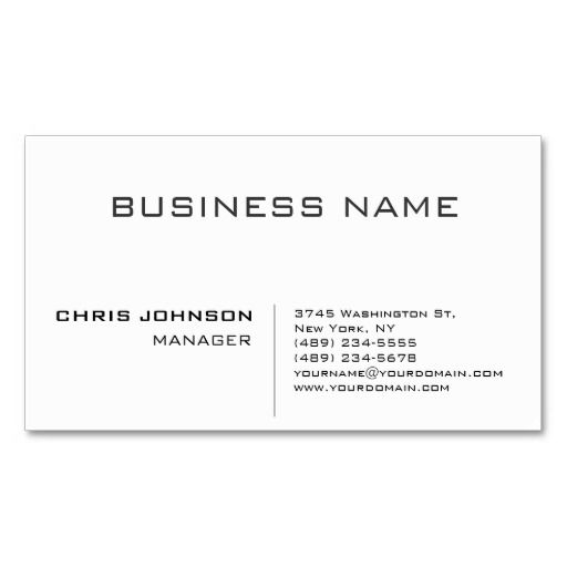 273 best Cleaning Business Cards images on Pinterest Janitorial - name card format