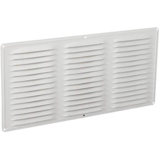 Air Vent Inc. 16X8 Wht (White) Under Eave Vent 84211 Unit: Each Contains 24 per case