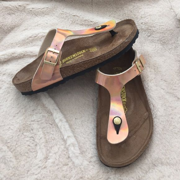 Bnwt rose gold Birkenstocks Bnwt Birkenstock Shoes